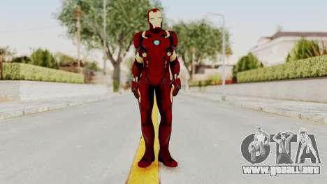Captain America Civil War - Iron Man para GTA San Andreas segunda pantalla
