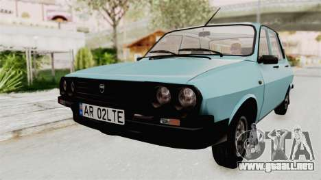 Dacia 1310 MLS 1989 para GTA San Andreas vista posterior izquierda