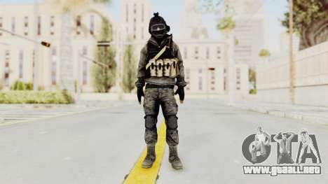 Battlefiled 3 Russian Medic para GTA San Andreas segunda pantalla