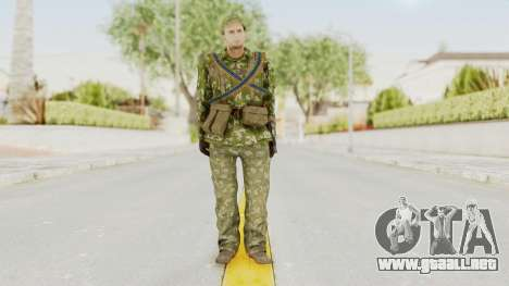 MGSV The Phantom Pain Soviet Union LMG v2 para GTA San Andreas segunda pantalla