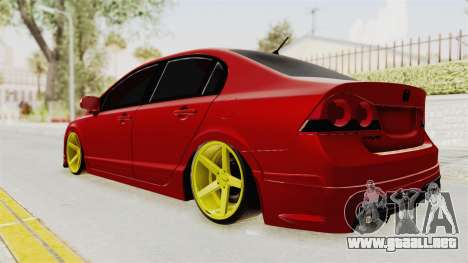 Honda Civic FD6 para GTA San Andreas left