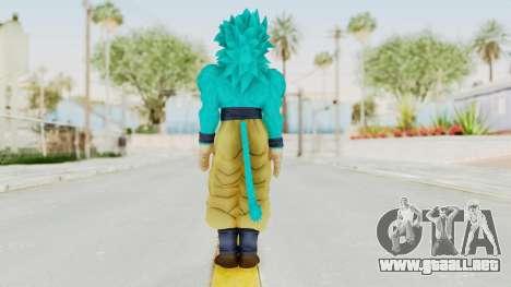 Dragon Ball Xenoverse Goku SSJ4 SSGSS para GTA San Andreas tercera pantalla