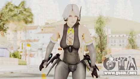 Dead Or Alive 5 LR Christie Tamiki Wakaki DLC v2 para GTA San Andreas