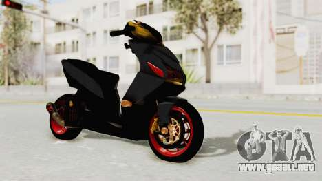 Honda Vario Concept 200CC para la visión correcta GTA San Andreas