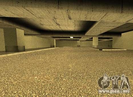 LSPD New Garage para GTA San Andreas