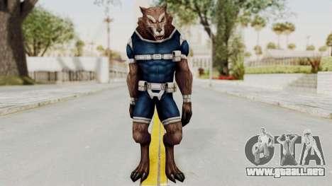 Marvel Future Fight - Warwolf para GTA San Andreas segunda pantalla