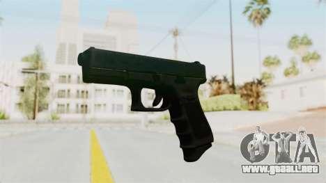Glock 19 Gen4 para GTA San Andreas segunda pantalla