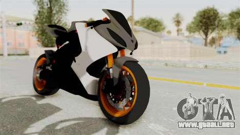 Yamaha YZF-R25 YoungMachine v2 para la visión correcta GTA San Andreas