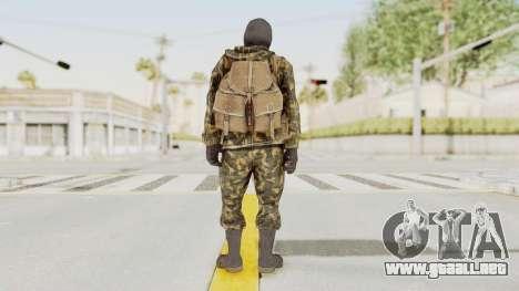 COD Black Ops Russian Spetznaz v5 para GTA San Andreas tercera pantalla
