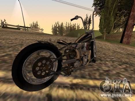 Chopper Old School para GTA San Andreas left