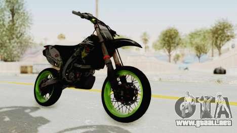Kawasaki KX 125 Supermoto para GTA San Andreas