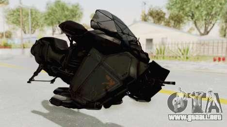 CoD Advanced Warfare - Hover Bike para la visión correcta GTA San Andreas