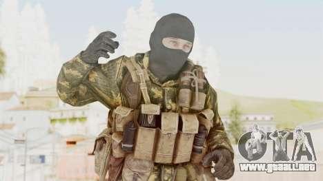 COD Black Ops Russian Spetznaz v5 para GTA San Andreas