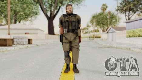 MGSV The Phantom Pain Venom Snake No Eyepatch v1 para GTA San Andreas segunda pantalla