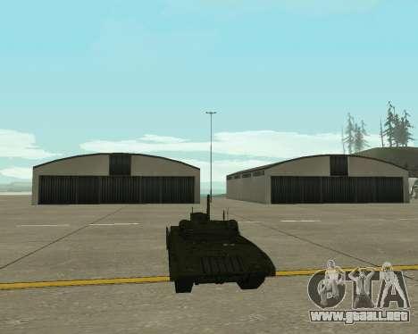 T-14 Armata para visión interna GTA San Andreas