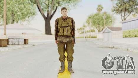 MGSV The Phantom Pain Soviet Union Vest v1 para GTA San Andreas segunda pantalla