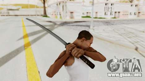 Liberty City Stories - Katana para GTA San Andreas tercera pantalla