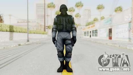 Batman Arkham Origins Swat para GTA San Andreas segunda pantalla