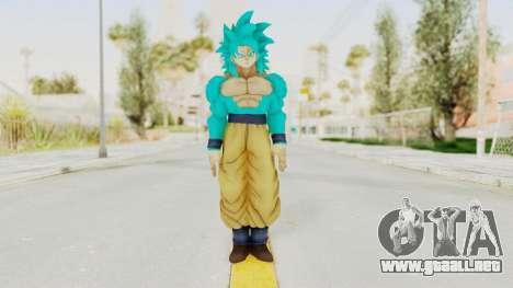 Dragon Ball Xenoverse Goku SSJ4 SSGSS para GTA San Andreas segunda pantalla