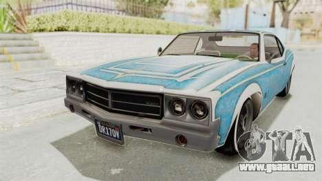 GTA 5 Declasse Sabre GT2 para el motor de GTA San Andreas
