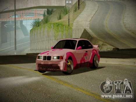 BMW M3 E36 Pinkie Pie para GTA San Andreas left