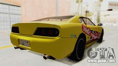 GTA 5 BuRGer Shot JeZter para GTA San Andreas left