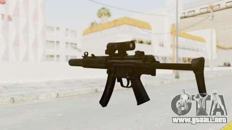 MP5SD para GTA San Andreas tercera pantalla