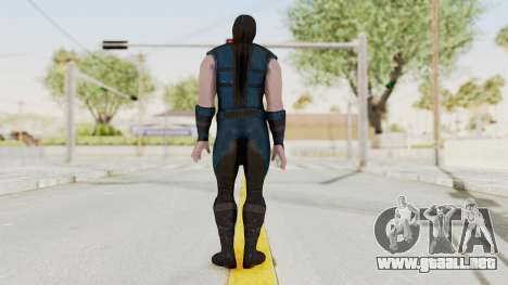Mortal Kombat X Klassic Sub Zero v1 para GTA San Andreas tercera pantalla