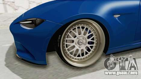 Mazda MX-5 Slammed para GTA San Andreas vista hacia atrás