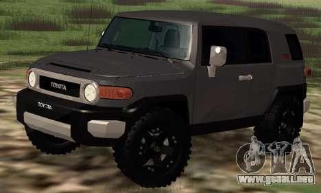 Toyota FJ Cruiser para GTA San Andreas left