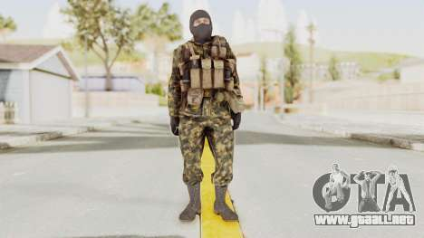 COD Black Ops Russian Spetznaz v5 para GTA San Andreas segunda pantalla