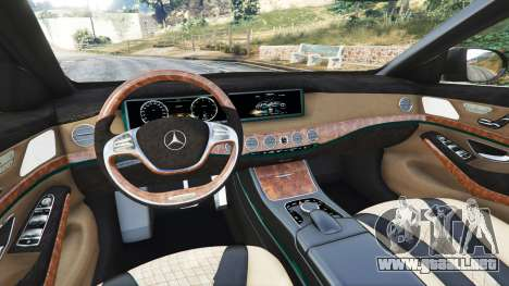 Mercedes-Benz S500 (W222) [michelin] v2.1 para GTA 5