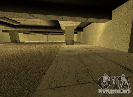 LSPD New Garage para GTA San Andreas quinta pantalla