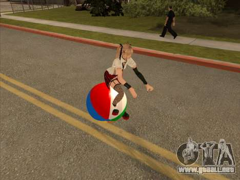 Beachball para GTA San Andreas left