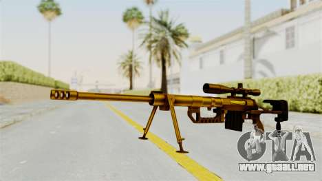 Cheytac M200 Intervention Gold para GTA San Andreas