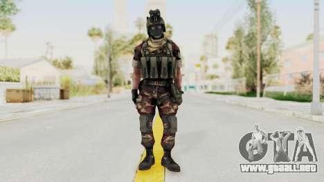 Battery Online Russian Soldier 3 v1 para GTA San Andreas segunda pantalla
