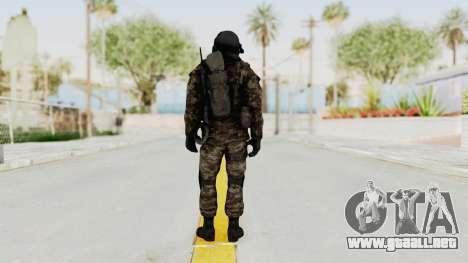 CoD MW3 Russian Military SMG v3 para GTA San Andreas tercera pantalla