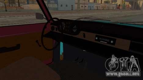Tampa Daytona para visión interna GTA San Andreas