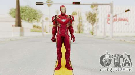 Marvel Future Fight - Iron Man (Civil War) para GTA San Andreas segunda pantalla