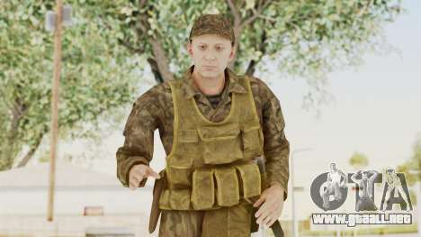 MGSV The Phantom Pain Soviet Union Vest v1 para GTA San Andreas