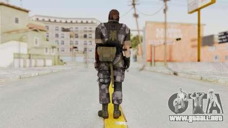 MGSV The Phantom Pain Venom Snake Square para GTA San Andreas tercera pantalla