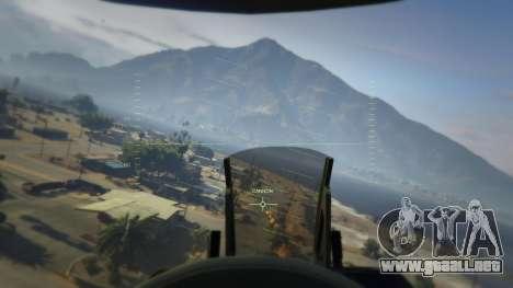 GTA 5 F-16C Block 52 séptima captura de pantalla