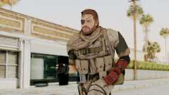 MGSV The Phantom Pain Venom Snake Scarf v3 para GTA San Andreas