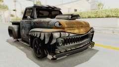 GTA 5 Slamvan Lowrider PJ2 para GTA San Andreas