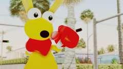 Kao the Kangaroo Gloves para GTA San Andreas