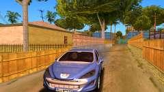 Iranian Peugeot 308 para GTA San Andreas