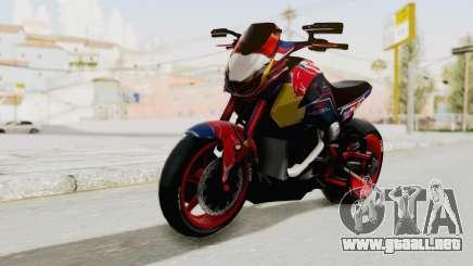 Honda MSX 125 Modified para GTA San Andreas