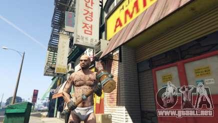 Wooden Fantasy Hammer para GTA 5