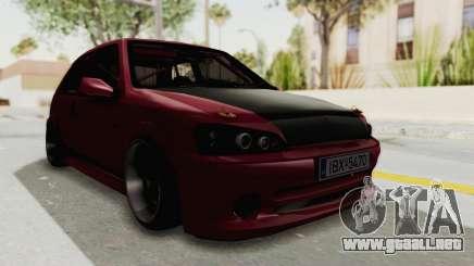Peugeot 106 V2 RWD Greek Style para GTA San Andreas