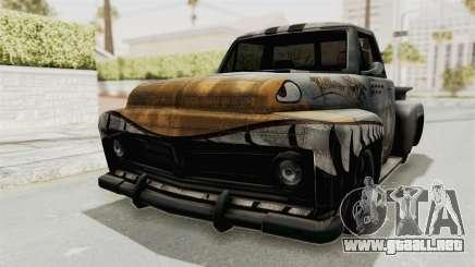 GTA 5 Slamvan Stock PJ2 para GTA San Andreas